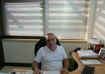 geom. finocchiaro Francesco in ufficio Fin.Par.2000 Esco S.p.A.